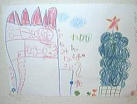 しょうこちゃん7歳 「クリスマスツリー」